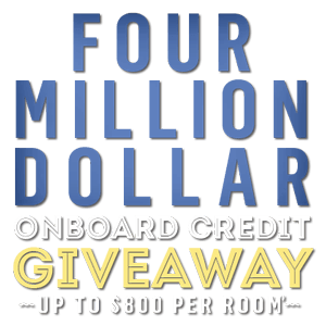 4 Million Onboard Credit Giveaway